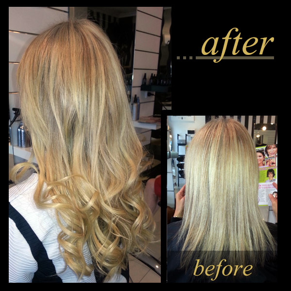 Hair Extensions Gallery Tape On And Off Extensions